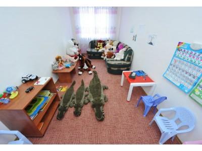 Отель Снежный барс Домбай | Детская комната