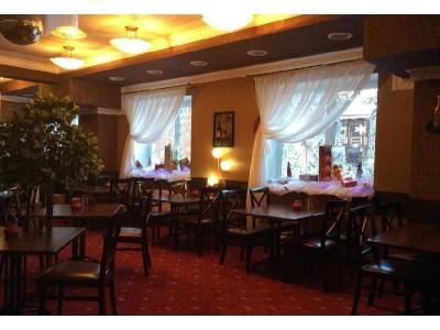 Отель Снежный барс Домбай | Ресторан