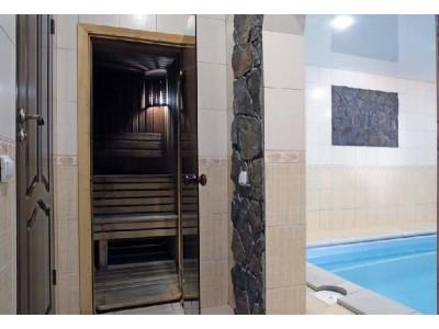 Отель Снежный барс Домбай | Сауна