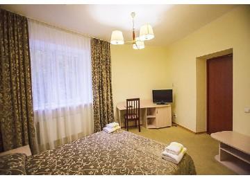 Отель Снежный барс Домбай| Стандарт 3-местный