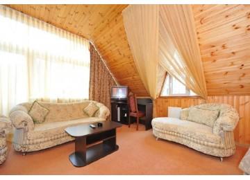Студия 2-местный | Номера и цены в отеле Снежный барс Домбай